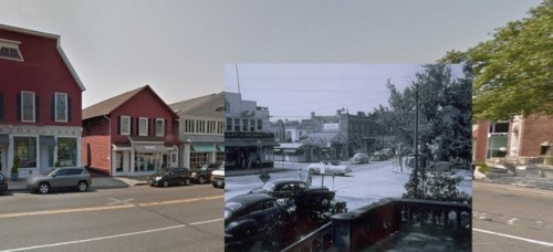 Then and now 4 - downtown