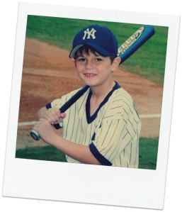 Joey Markus in Little League...