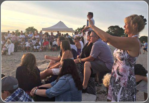 Compo Beach wedding 2