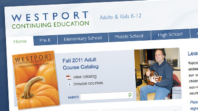 Continuing ed website