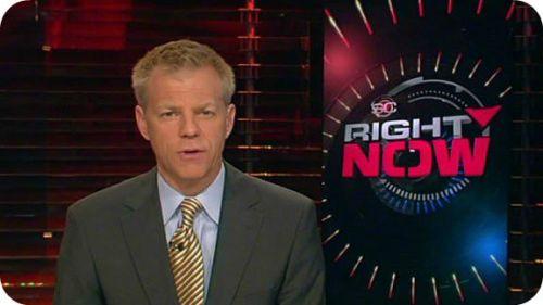 David Lloyd today, hosting ESPN's SportsCenter.