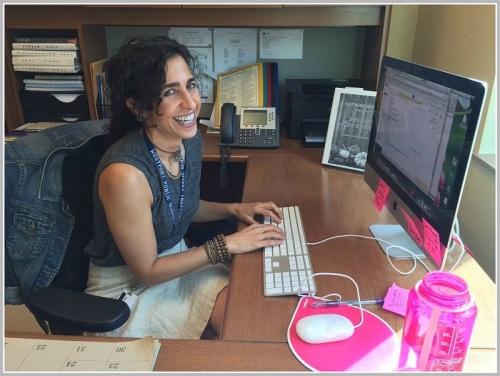 Ellen Israel, Westport's energetic new director of continuing education.