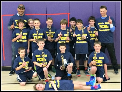 Last year's 5th grade boys Fairfield County Basketball League champs were a Westport YMCA team.