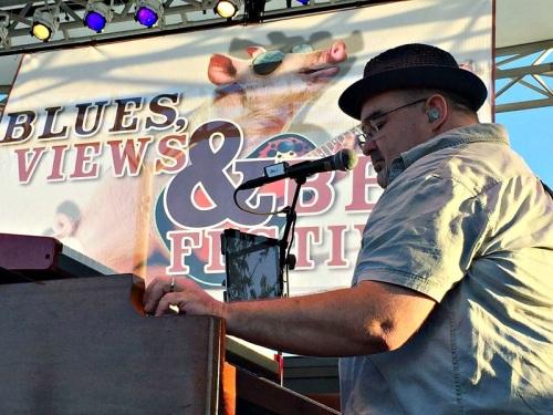 Anders Osborne -- the Swedish bluesman from New Orleans -- rocked a full Levitt Pavilion house tonight.