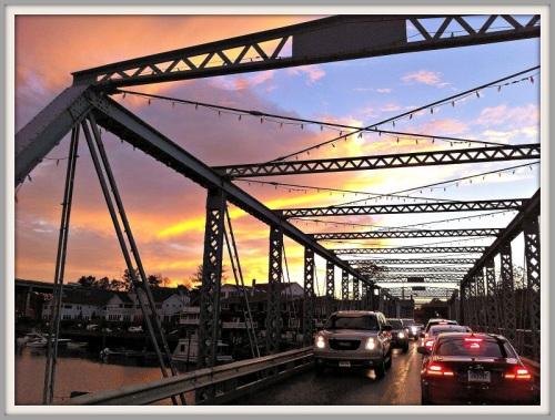 The controversial Bridge Street Bridge. (Photo/Michael Champagne)