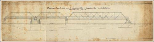 Bridge Street bridge - original drawing