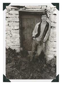 Colin McKenna in Ireland, in 1981.