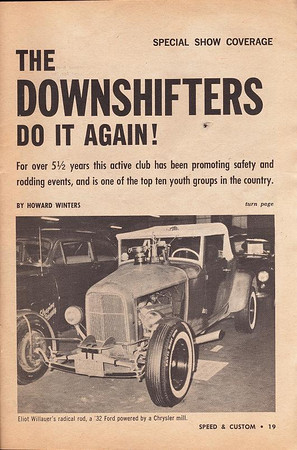 A magazine story on the Downshifters.