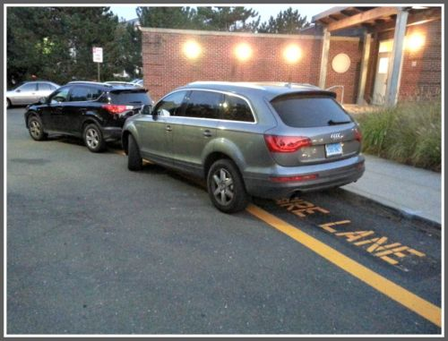 Saugatuck parking - 3