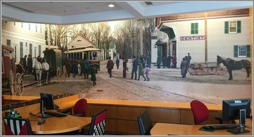 Trolley - TD bank mural