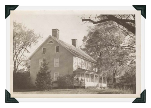 268 Wilton Road in a 1935 WPA photograph...