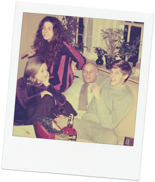 Gerry and Flora Gross with their children, Sarah and Adam, around 1970.