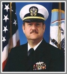 Kevin O'Brien, in the Navy.
