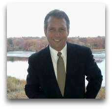 Saatva Ron Rudzin, in a press photo. That's the Saugatuck River behind him.