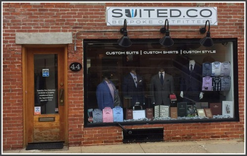 Suited.co recently opened on Railroad Place.