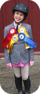 Chloe Kiev, after a recent horse show.
