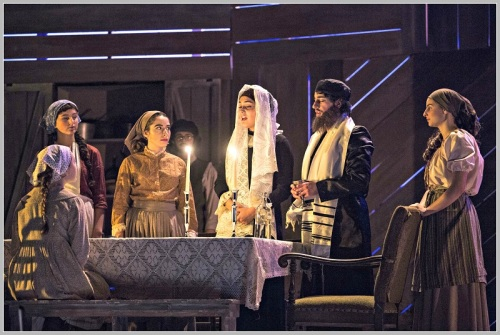 """The staging, acting, choreography and sets of """"Fiddler on the Roof"""" is spectacular -- as Staples Players shows always are. (Photo/Kerry Long)"""
