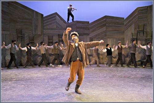 Jacob Leaf as Tevye in