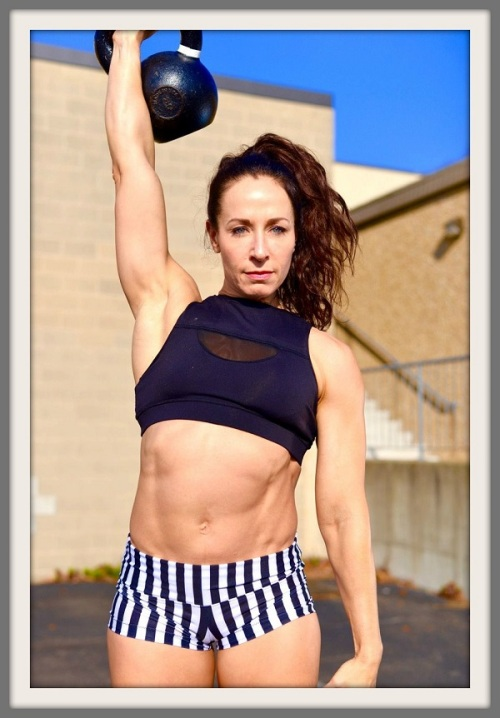 Amy Mandelbaum: owner and head coach of CrossFit, and a 4-time CrossFit Masters Games Athlete.