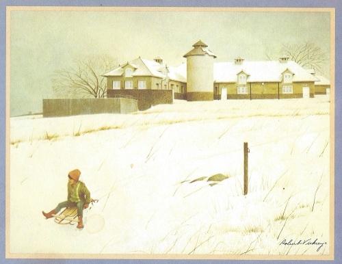 Christmas card - Nyala Farm 1971