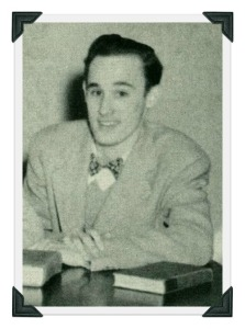 David Hollister, as a 1947 Staples High School senior: class vice president, Yale applicant, alleged communist.