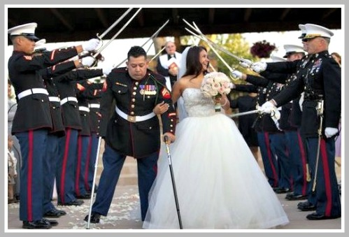 Juan Dominguez, on his wedding day.