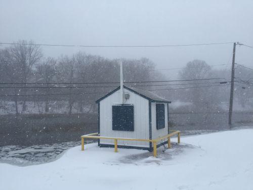 The gatehouse at Burying Hill Beach. (Photo/Nico Eisenberger)