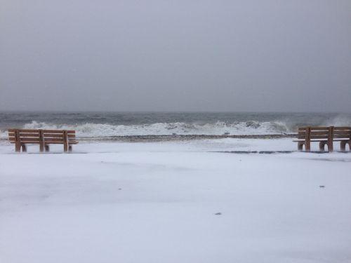 ...but not so Compo Beach itself. (Photo/Steve Axthelm)