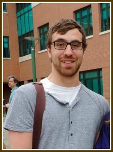 Cody Thomas, at Staples High School's graduation last year.