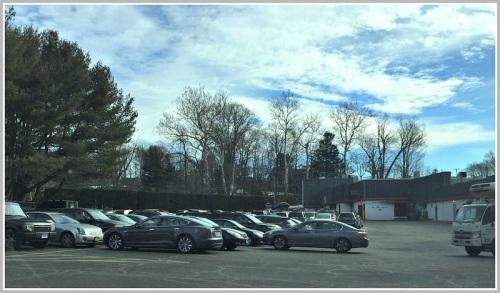 CVS parking spot