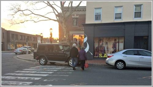 Entitled parker - downtown Westport