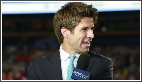 Kyle Martino is one of NBC's top analysts on English Premier League broadcasts.