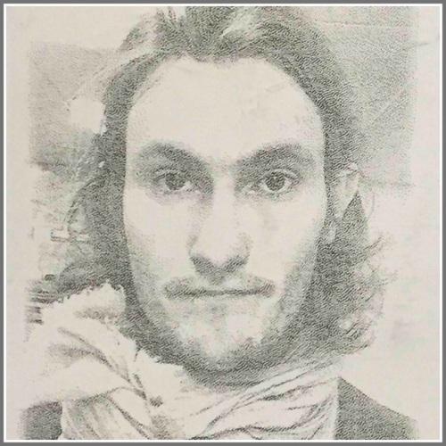 Lane Goldberg -- a self-portrait.