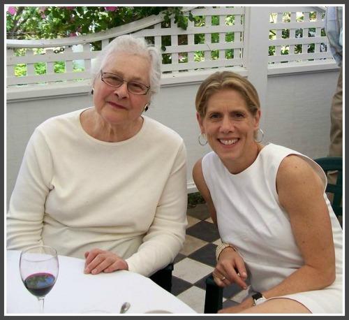 Sarah Herz and Maggie Kneip at Westport's Blue Lemon restaurant.