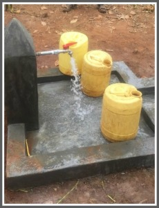 The water supply today, thanks to Innovation: Africa.