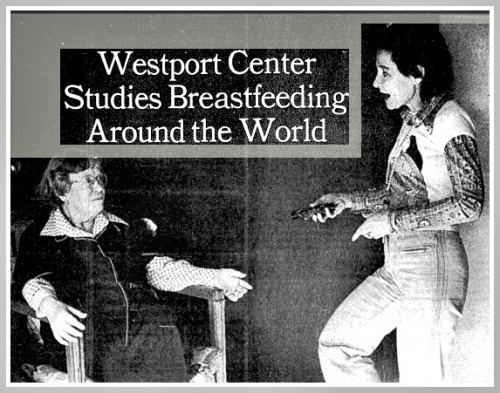 Dana Raphael (right) and Margaret Mead were featured in a 1978 New York Times story.