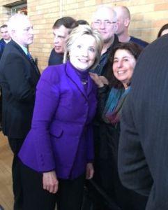 Hillary Clinton, Don and Toni O'Day.