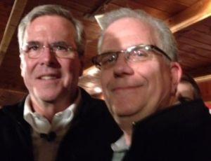 Governor Jeb Bush and Don O'Day.