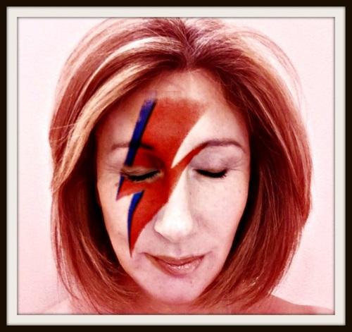 Jane Green channels David Bowie.
