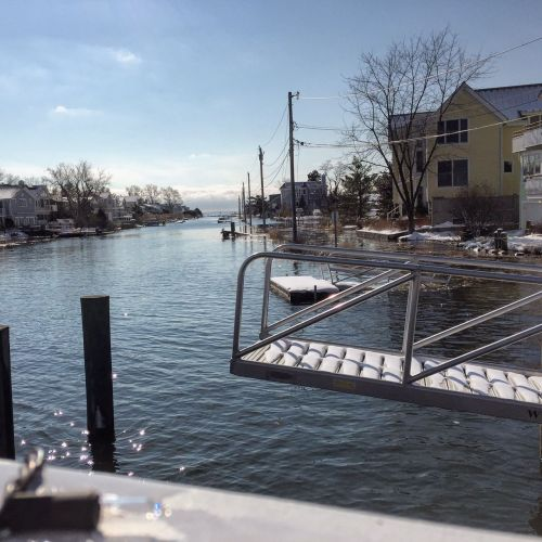 Saugatuck Shores flooding 2 - Feb 9 2016 - Betsy P Kahn