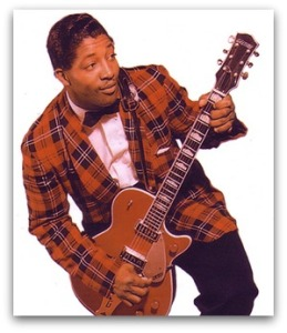 Bo Diddley was heard in Westport.