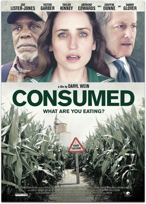 Consumed movie poster - Daryl Wein