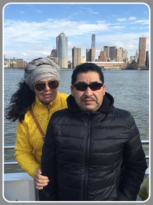 The day after his speech, Christopher Morales took his parents, Maria and Enrique, to New York. It was their first visit to the city.