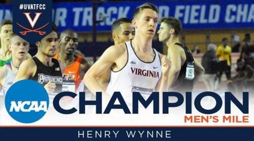 Henry Wynne - national champion