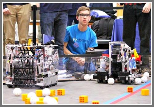 Among the many subjects Westport students study: robotics.