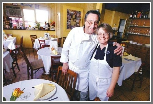 Owners Pasquale and Maria Funicello -- and their family -- keep Tutti's going.