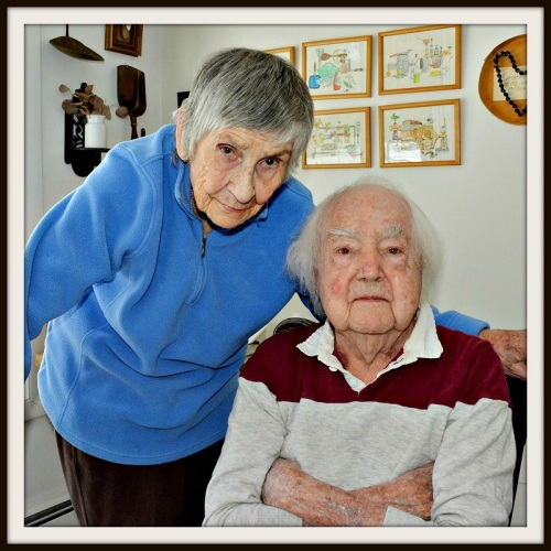 Gerry and Howard Munce. This weekend's Westport Woman's Club art show is dedicated to them.