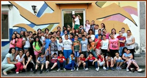 The children of La Tenda.