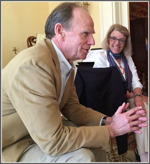 Livingston Taylor, hanging out at the Ruchefskys' house.