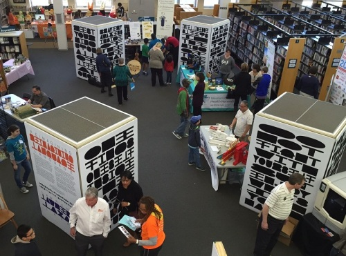 Indoors and out, the Maker Faire took over the Westport Library and Jesup Green.
